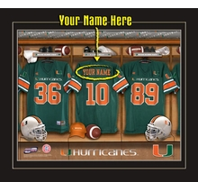 Miami Hurricanes Personalized Gifts