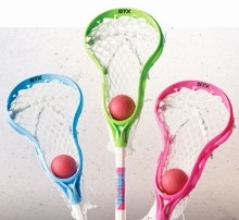 Mini Lacrosse Sticks / Game Sets