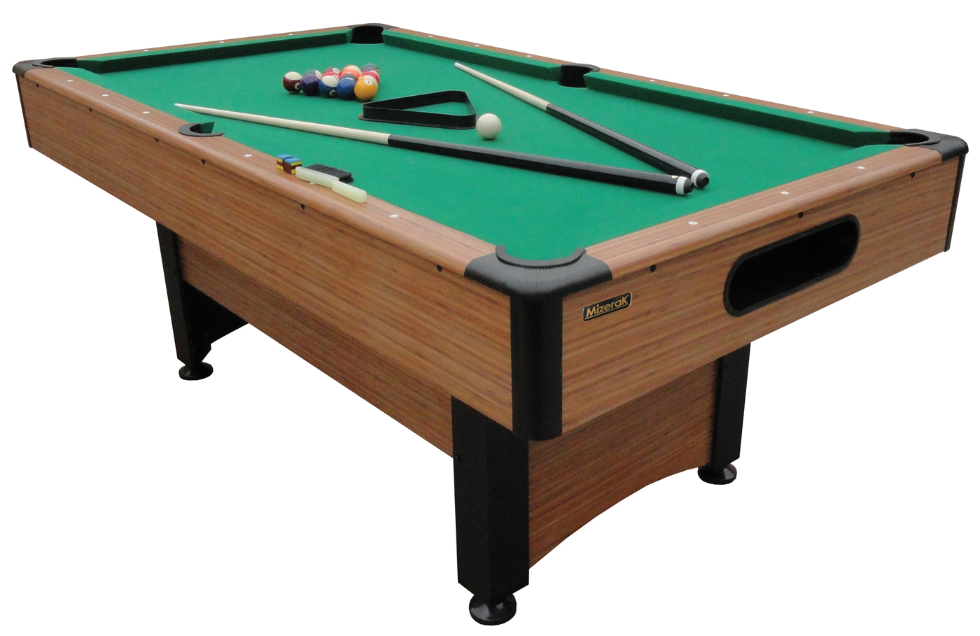 Mizerak 6 5 39 dynasty space saver billiard table - Space needed for pool table ...