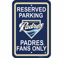 MLB Parking Signs