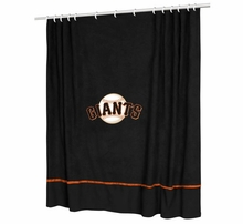 MLB Shower Curtains