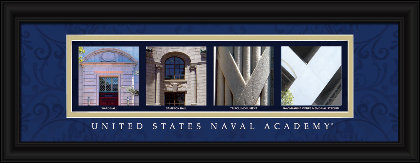 Navy midshipmen campus letter art for Campus letter art