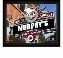 NCAA Personalized Pub Prints