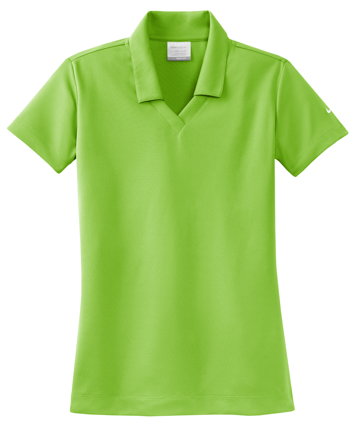 Nike golf dri fit micro pique women 39 s polo for Tailored fit shirts meaning