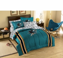 San Jose Sharks Bed And Bath