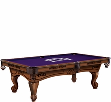 Texas Christian Horned Frogs Game Room & Fan Cave