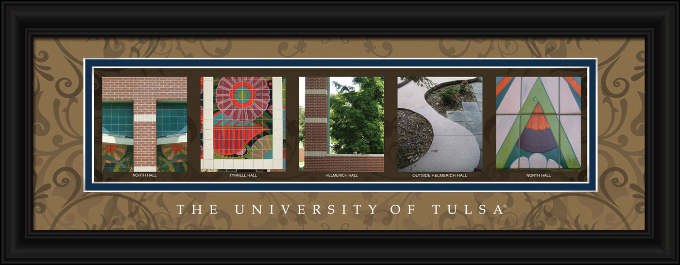 Tulsa golden hurricane campus letter art for Campus letter art