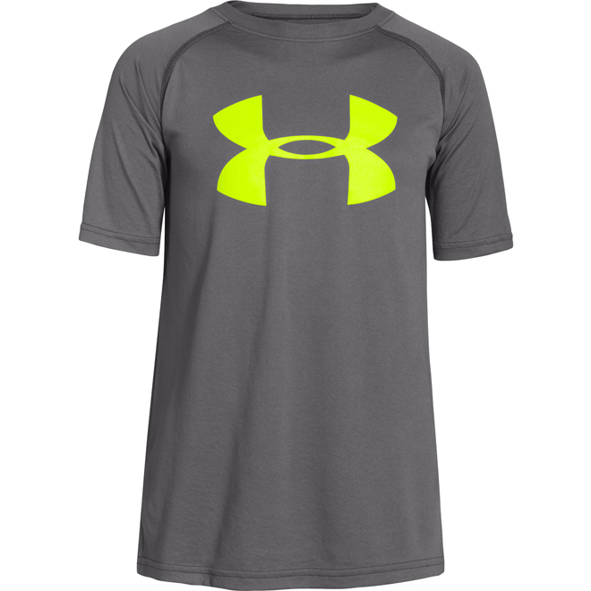 Cool shirt cooling system joy studio design gallery for Under armour big logo t shirt