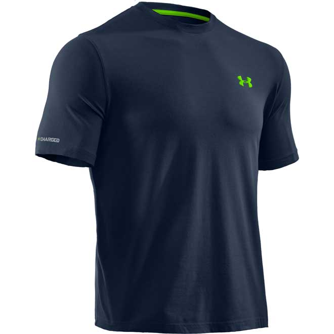 Under armour charged cotton men 39 s t shirt for Under armour charged cotton shirts mens