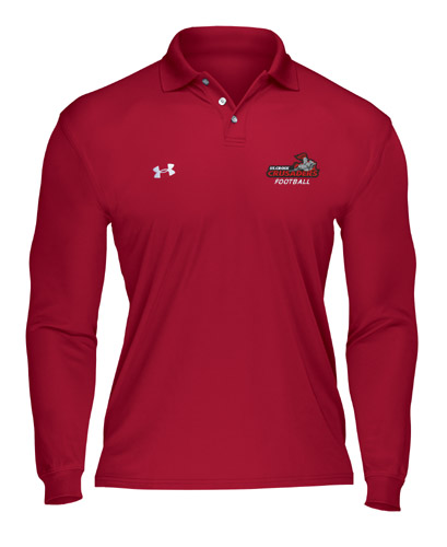 Under armour custom longsleeve performance polo free for Under armour embroidered polo shirts