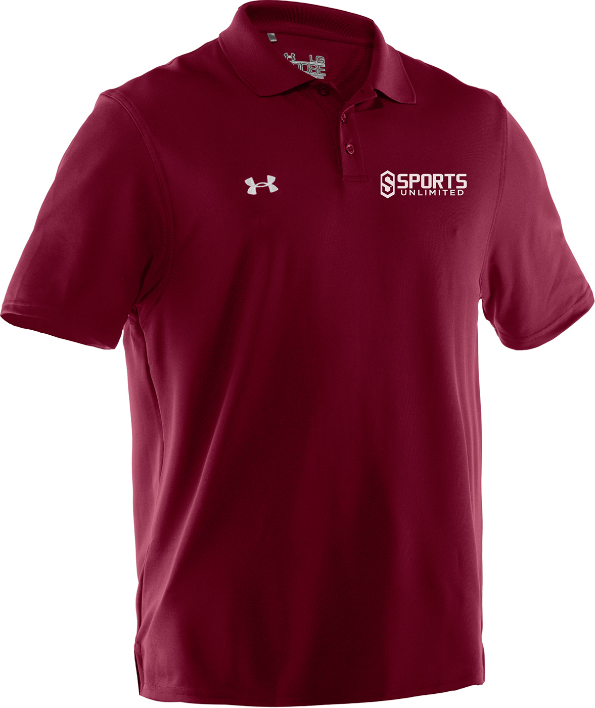 Custom under armour polo shirts for Under armour embroidered polo shirts