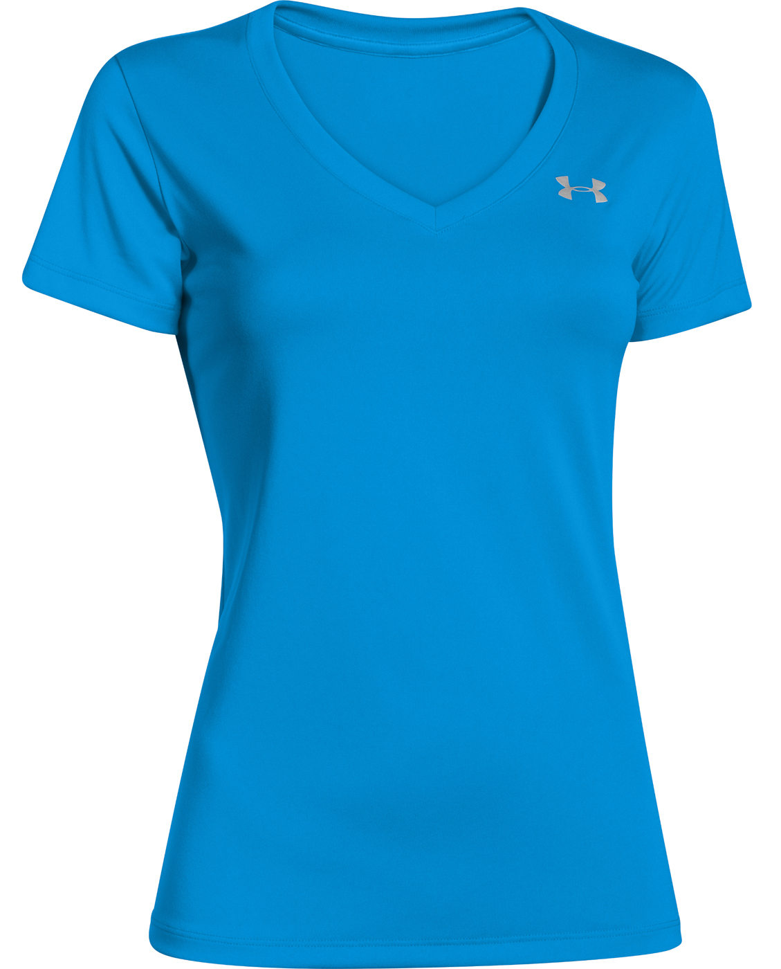 The gallery for under armour shirts for women for Under armour women s twisted tech t shirt