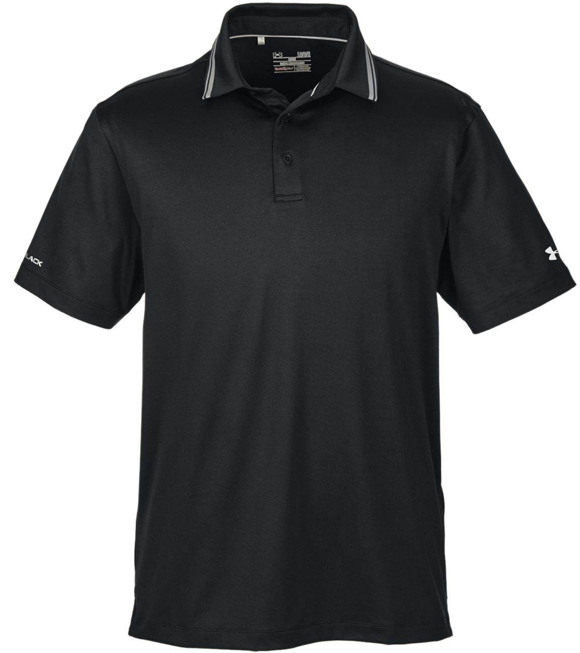 Under armour men 39 s corporate coldblack address polo for Under armor business shirts