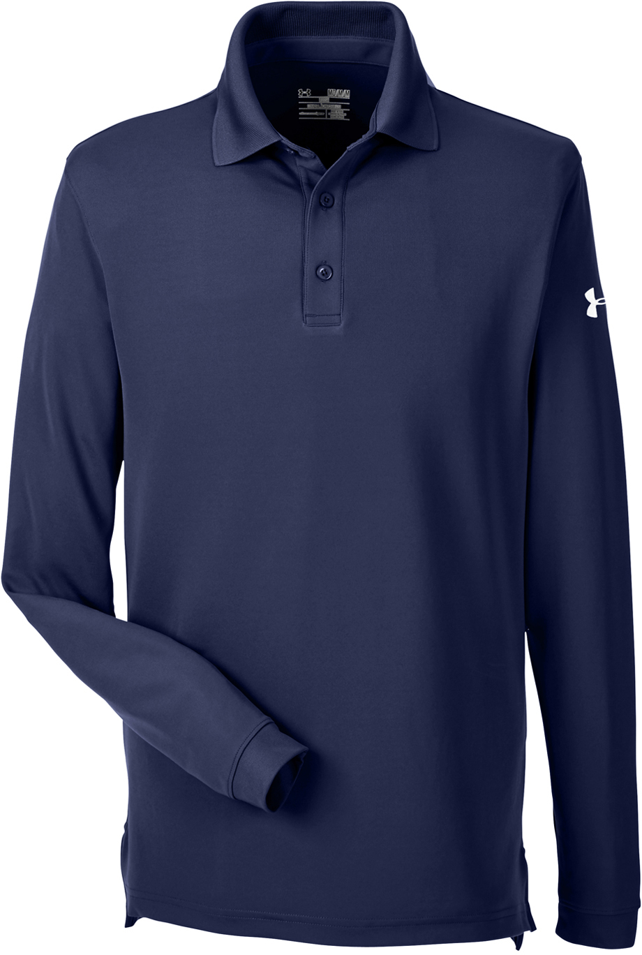 Under armour men 39 s corporate performance long sleeve polo for Under armor business shirts