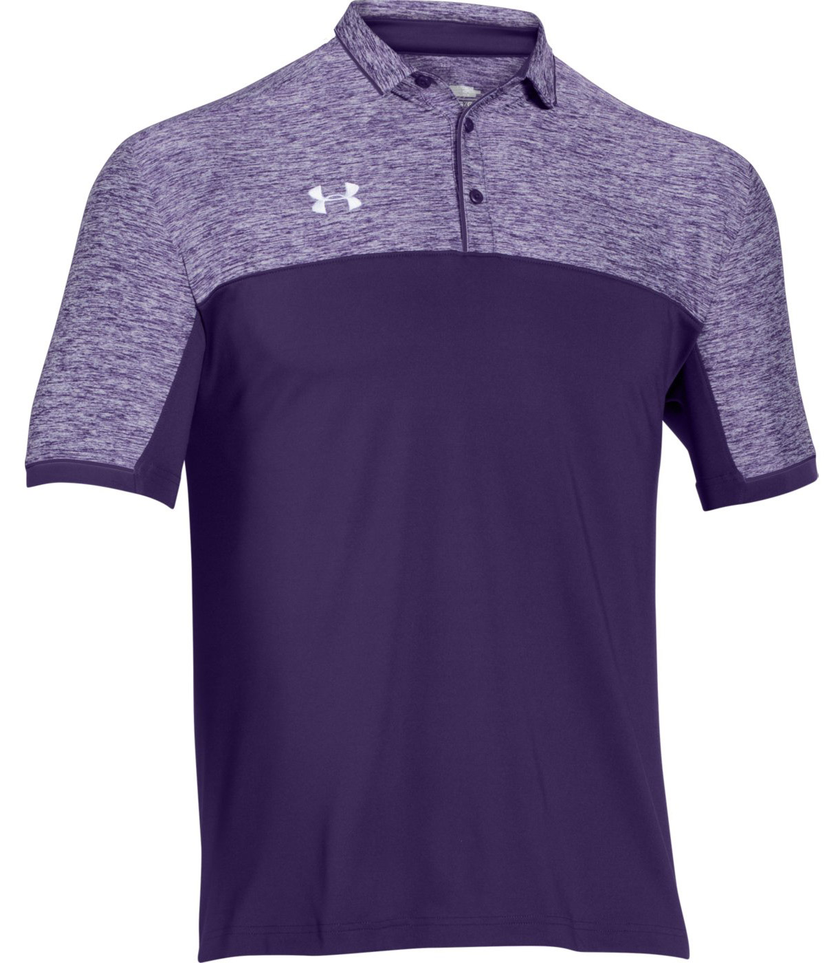 Under armour team podium men 39 s polo shirt for Under armour i will shirt