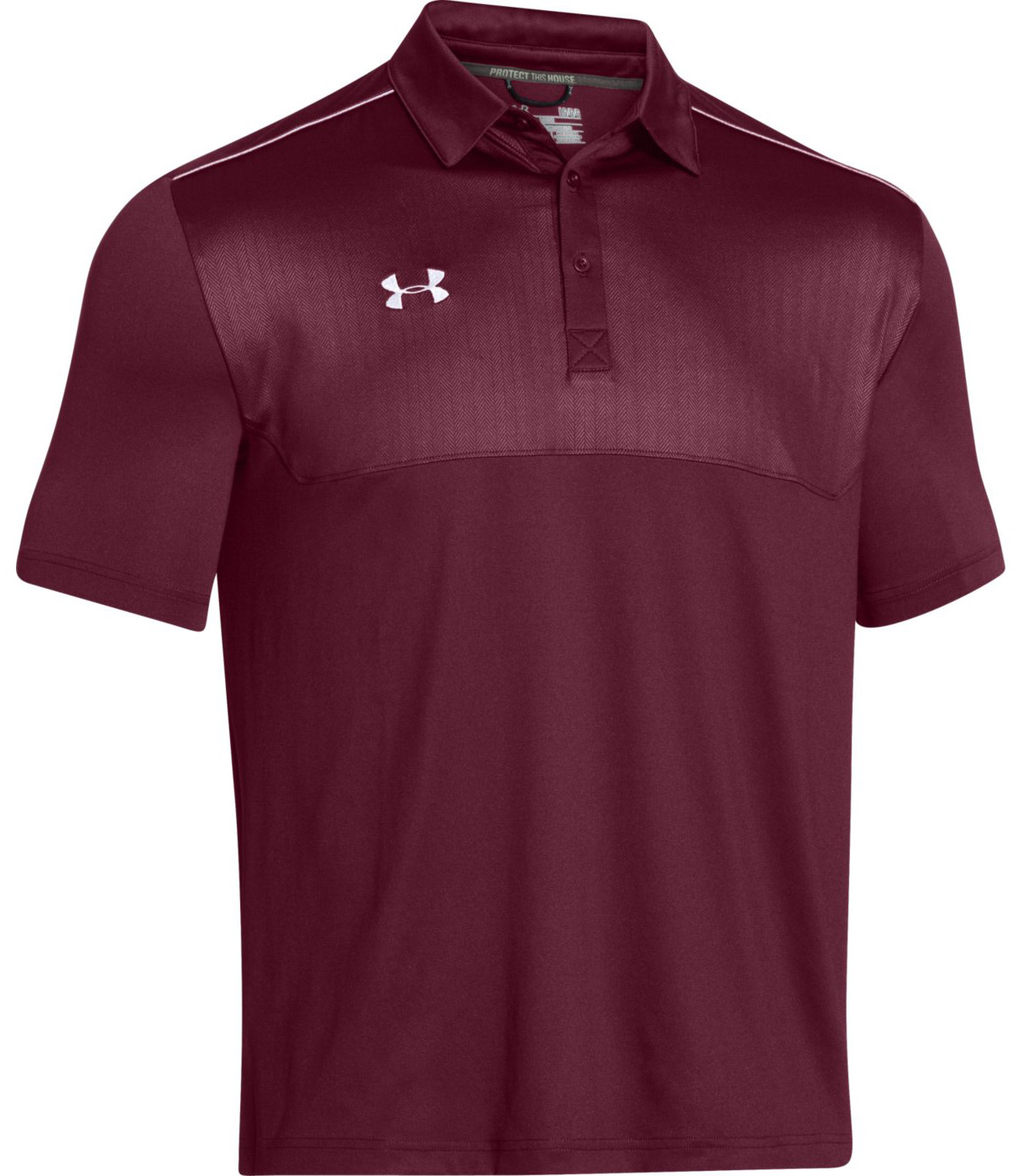 Under armour ultimate men 39 s polo shirt for Under armour company shirts