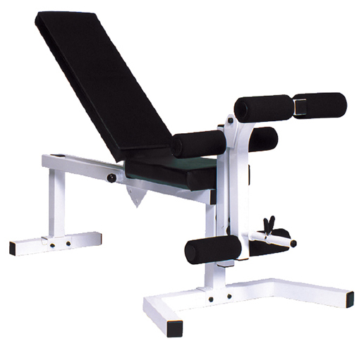 York Pro Series 210 Flat Bench With Leg Curl Attachment