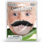 Chill Baby Pacifier Mustache