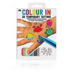 Color In: 20 Temporary Tattoos