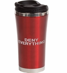 Deny Everything Coffee Tumbler (Spy Museum Exclusive)