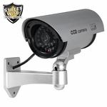 Dummy Camera With Outdoor Housing & Light