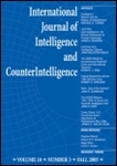 International Journal of Intelligence and CounterIntelligence, Volume 26, Issue 1, Spring 2013