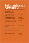 International Security, Volume 40, Issue 1, Summer 2015: Nonproliferation and Proliferation: Strategies and Outcomes