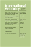 International Security, Volume 40, Issue 3, Winter 2015