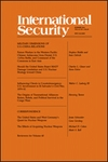 International Security, Volume 41, Issue 1, Summer 2016
