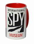 International Spy Museum Logo Etched Mug