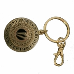 Keychain Cipher Disk (Gold)