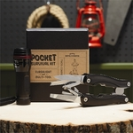 Pocket Survival Kit: Flashlight and Multi-Tool
