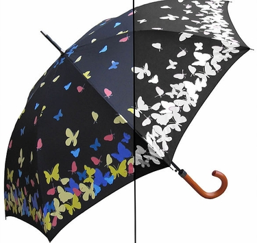 RainStoppers Color Changing Butterfly Umbrella