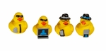 Secret Agent Ducks (4 Pack)