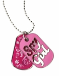 Spy Girl Dog Tag (Spy Museum Exclusive)