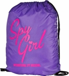 Spy Girl Drawstring Bag (Spy Museum Exclusive)