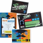 Electronic Top Secret/Mission Invitations and Thank You Notes (Spy Museum Exclusive)