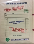Top Secret Folder 3 Pack