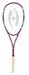 SPECIAL - Harrow Stealth Squash Racquet, Camo / Pink / Blue
