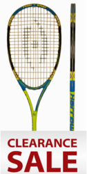 Harrow Sublime Squash Racquet, Green / Cyan