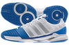 Last pair - Adidas adiPower Stabil 11 Men's Court Shoes, White / Bright Royal, size 13.5