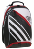 Adidas Barricade IV Tour Backpack, White / Black / Scarlet