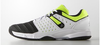 Adidas Court Stabil 12 Men's Shoes, White / Black / Lime