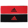Adidas Interval Reversible Headband, Hi-Res Red / Black