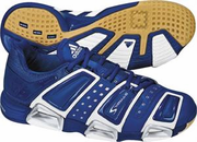 Adidas Stabil S Squash / Volleyball Men's Shoes, Royal / White