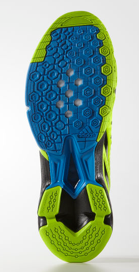 Adidas Volley Response Boost Men's Court Shoes, Solar Green