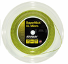 Ashaway SuperNick XL Micro Squash String, 18g, Yellow, REEL