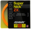 Ashaway SuperNick ZX Squash String, 17g, Orange, SET