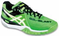 last pair - Asics Gel-Blast 6 Men's Court Shoes, Neon Green, SIZE 9