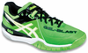 last few - Asics Gel-Blast 6 Men's Squash / Indoor Court Shoes, Neon Green